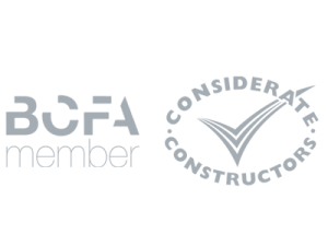 Chrysalis are members of BCFA & Considerate Constructors