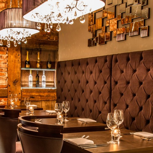Winehouse Restauraurant Banquette Seating