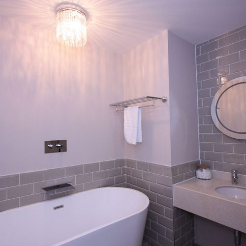 Bespoke Hotel Bathroom - Neutral Interior
