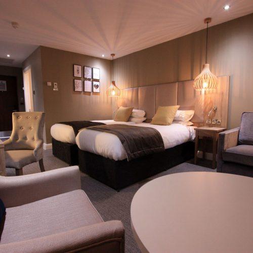 Bespoke Hotel Bedroom - Neutral Interior