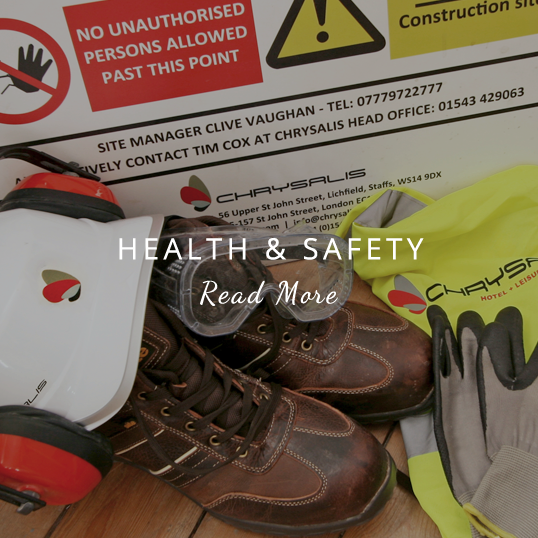 Health & Safety - Read More