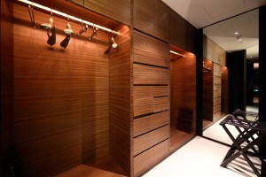 Bespoke Changing Room Hotel Spa
