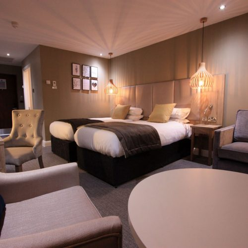 Bespoke Hotel Bedroom - Neutral Interior