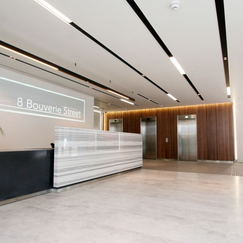 Bouverie Street Reception Desk