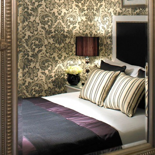 Chic Hotel Bedroom Flemings Mayfair
