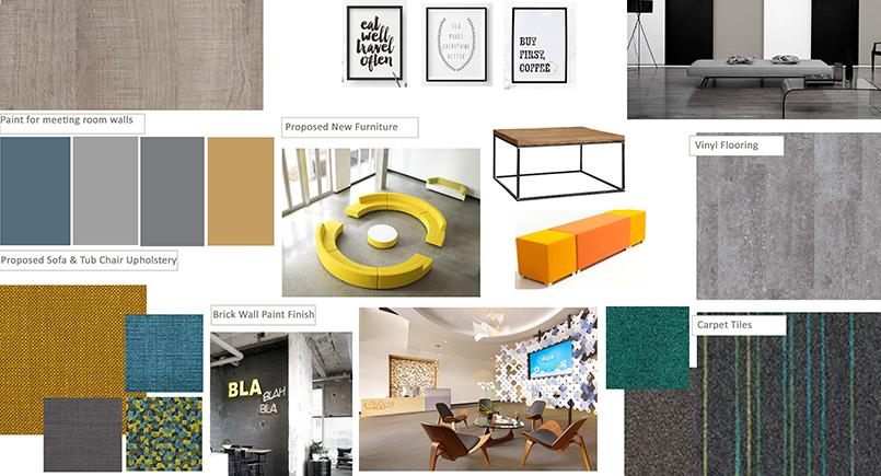 Imago Venues Conference Breakout Area Concept Board