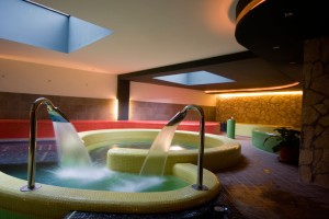Circular Plunge Pool Feature Lighting