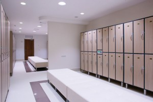 Freestanding Lockers Hotel Changing Room