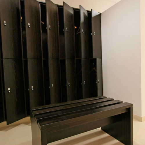 Bespoke Lockers Wenge