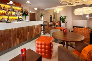 Hilton Glasgow Bar Interior