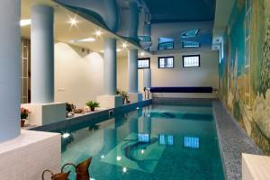 Hotel Pool Interior
