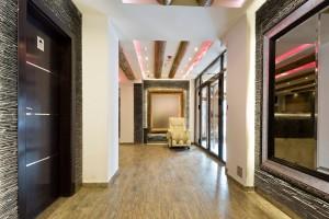 Textured Tile Corridor